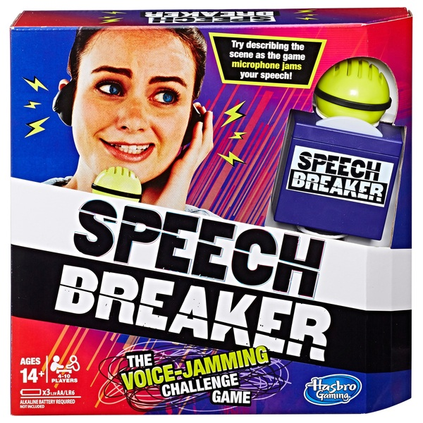 Speech Breaker Game- Voice Jamming Challenge