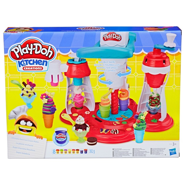 Play Doh Kitchen Creations Ultimate Swirl Ice Cream Maker Play Doh Uk