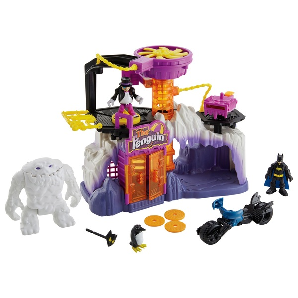 Imaginext DC Super Friends Legends of Batman the Penguin Lair