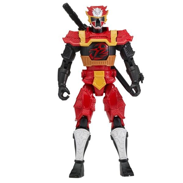 Power Ranger Super Ninja Steel 12.5cm Red Power up Ranger