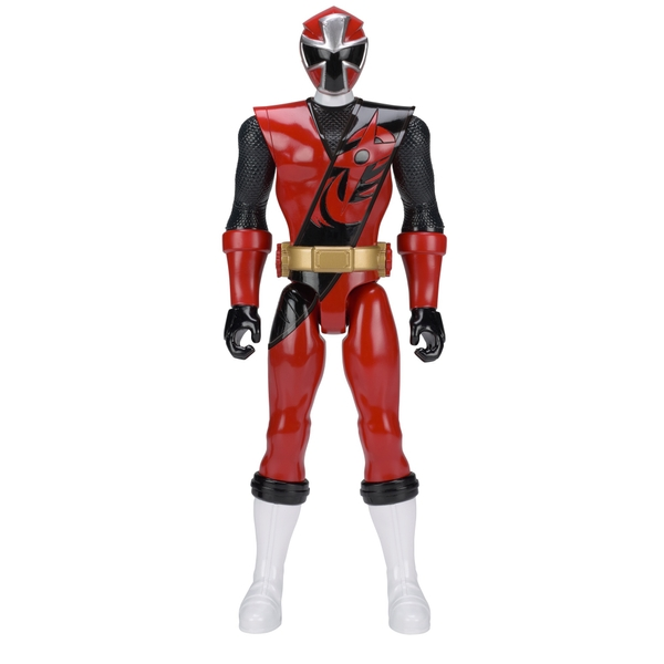 Power Rangers Super Ninja Steel 30cm Red Ranger Action Figure