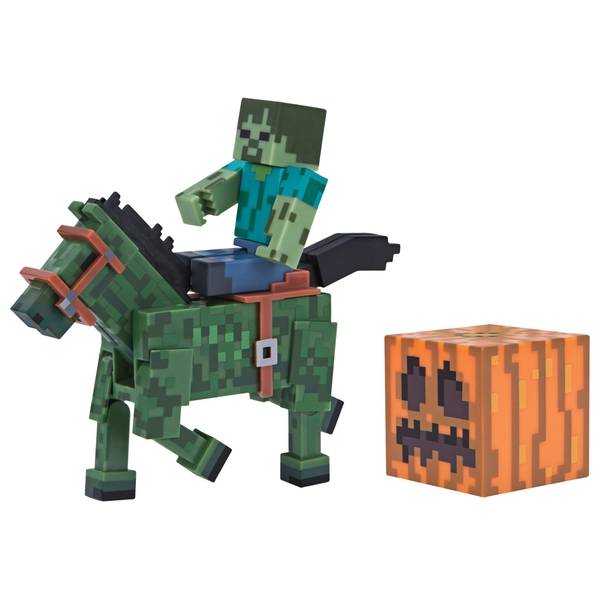 Zombie with Zombie Horse Pack