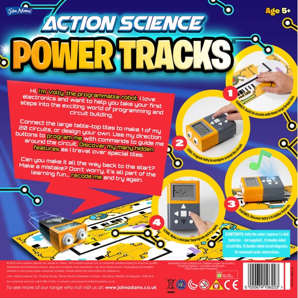 Power Tracks - Gift Finder 9-11 Years UK