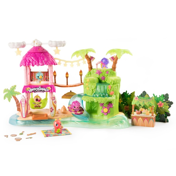 Hatchimals CollEGGtibles Tropical Party Playset