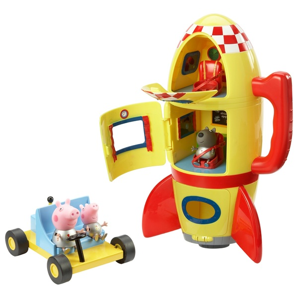 Peppa Pig Space Explorer Set with Moon buggy and 3 figures