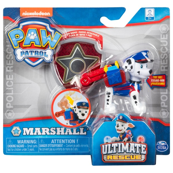 PAW Patrol Ultimate Rescue Police Figure Assortment