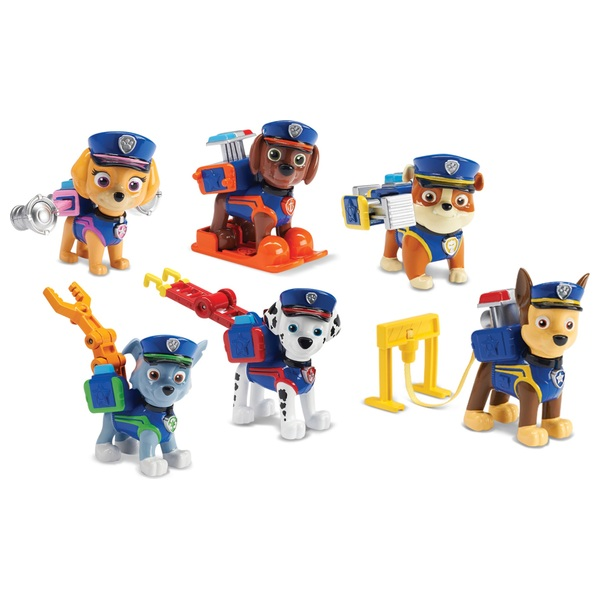 PAW Patrol Ultimate Police Rescue Figure Pack Gift Set