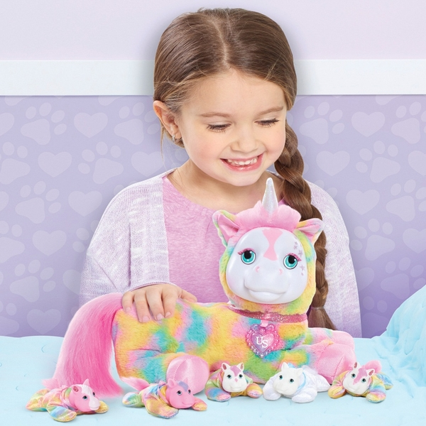 Unicorn Surprise Plush: Crystal Series 1