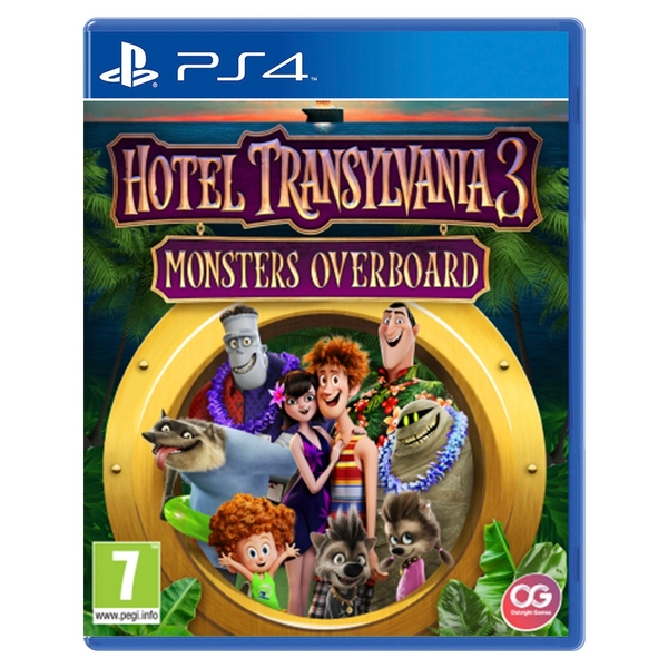 Hotel Transylvania 3: Monsters Overboard PS4