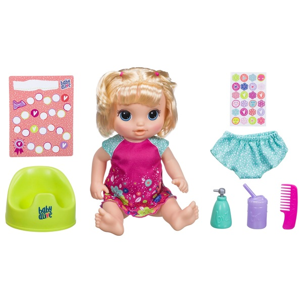 Baby Alive Potty Dance Baby Blonde - Dolls Ireland 531e292108