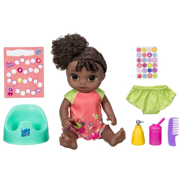 Baby Alive Potty Dance Baby Curly Hair