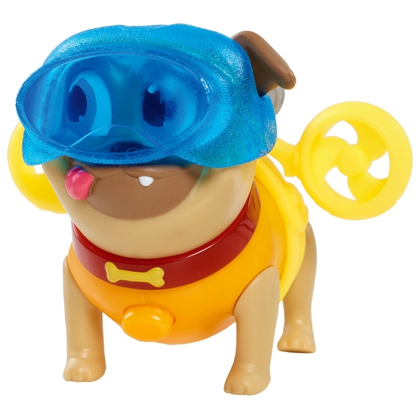 Disney Junior Puppy Dog Light-Up Pals On a Mission Rolly Rocket Figure