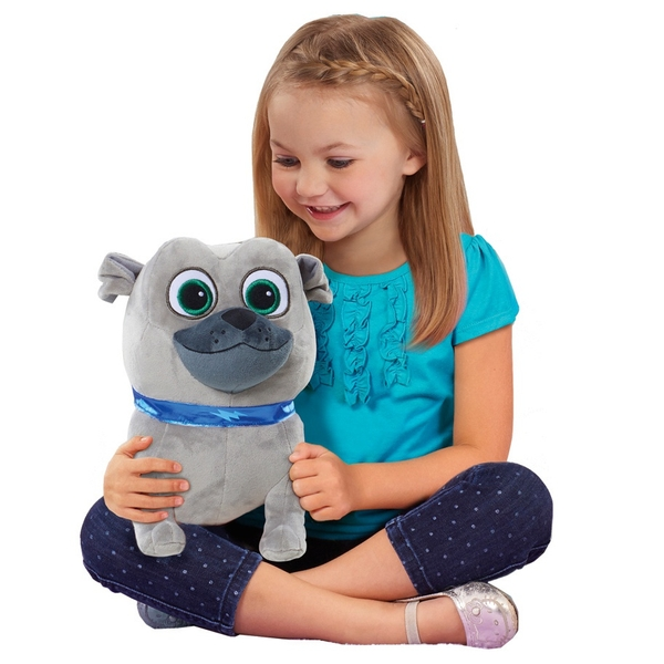 Disney Junio Puppy Dog Pals Puppy Love Medium Plush Bingo