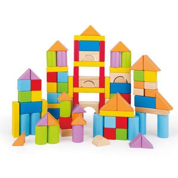 Hape 101-Piece Wonderful Beech Blocks