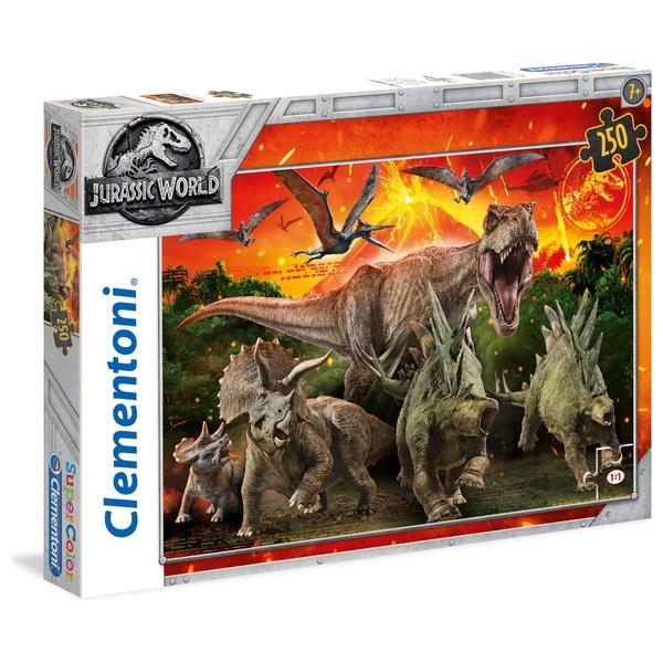 Clementoni Jurassic World 250 Piece Count Jigsaw Puzzle