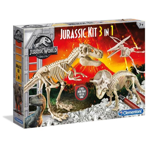 Jurassic World 3 in 1 Excavation Kit