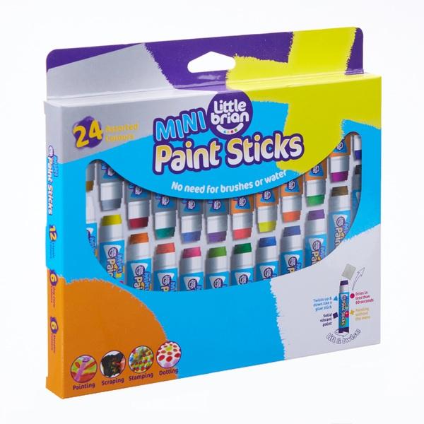 Little Brian Paint Sticks Mini 24 Assorted