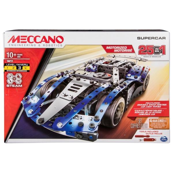 Meccano 25 Model SuperCar Set