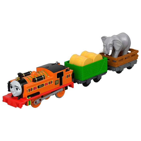 Thomas & Friends TrackMaster Nia & The Elephant Toy Engine