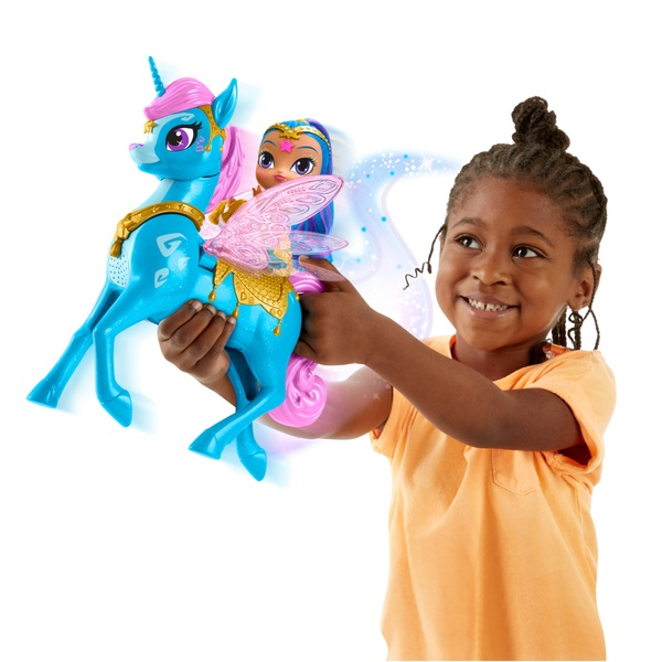 Shimmer and Shine - Shine Doll & Magical Flying Zahracorn Playset