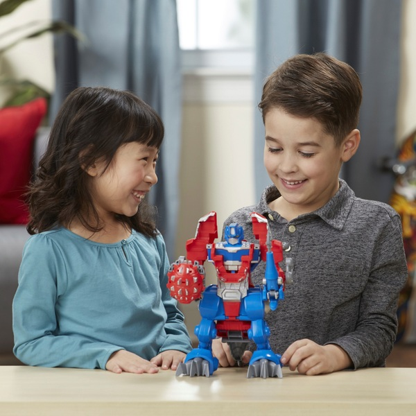 Playskool Heroes Transformers Rescue Bots Knight Watch Optimus Prime
