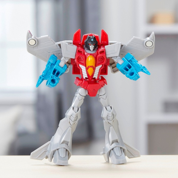 Transformers Cyberverse Warrior Starscream Figure