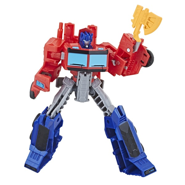 Transformers Cyberverse Warrior Optimus Prime Figure