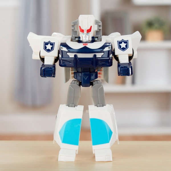 Prowl Action Figure Transformers Cyberverse Action Attackers: Warrior Class