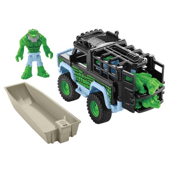Imaginext Legends of Batman K. Croc & 4x4
