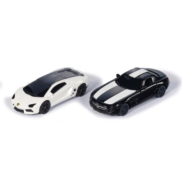 Black & White Sports Car Limited Edition Set