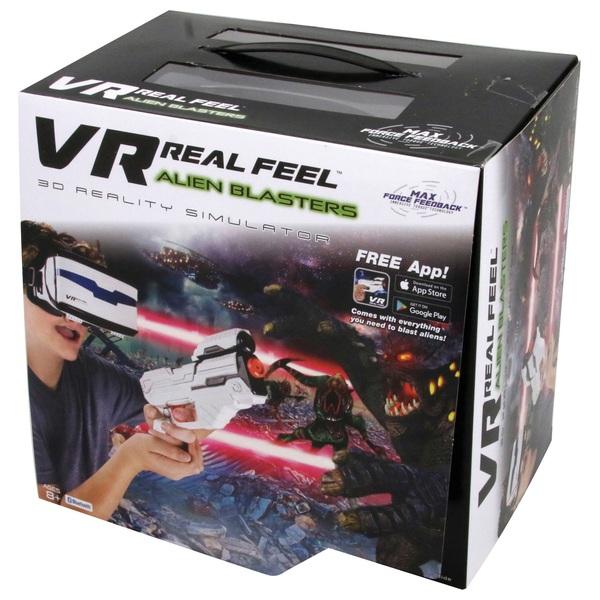 VR Real Feel Alien Blaster