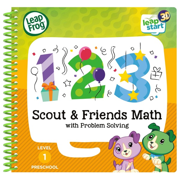 LeapFrog Scout & Friends Maths Activity Book 3D