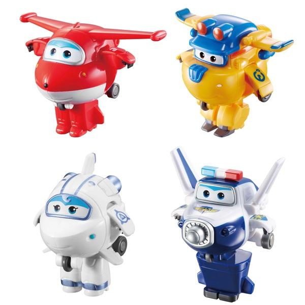 Super Wings Transform-A-Bots 4 Pack Assortment