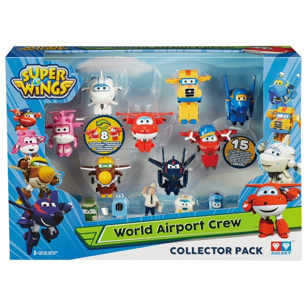 Super Wings Airport Crew Playset Series 2