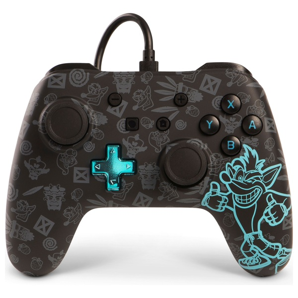 Crash Bandicoot - Wired Controller for Nintendo Switch