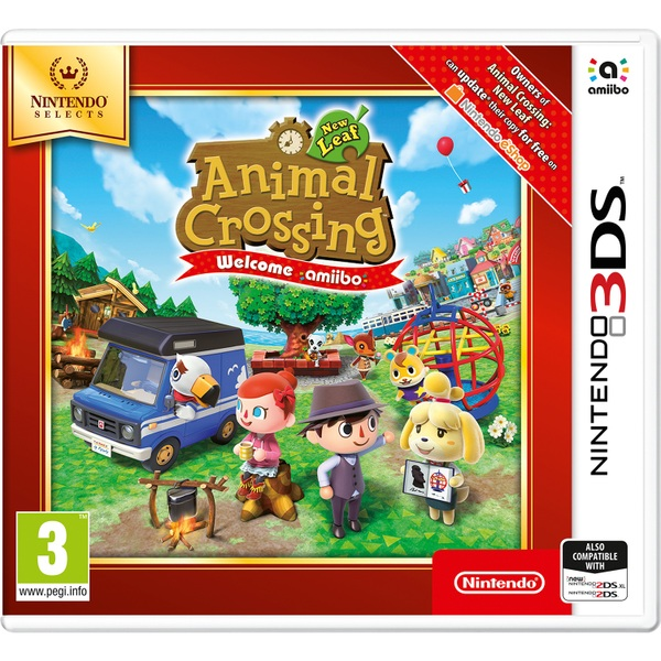 Animal Crossing New Leaf Welcome Selects 3DS