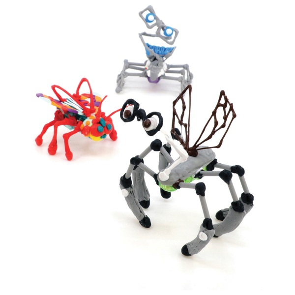 3doodler make your own hexbug creature activity kit other arts