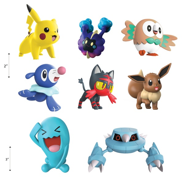 Pokémon Battle 8 Figure Multipack