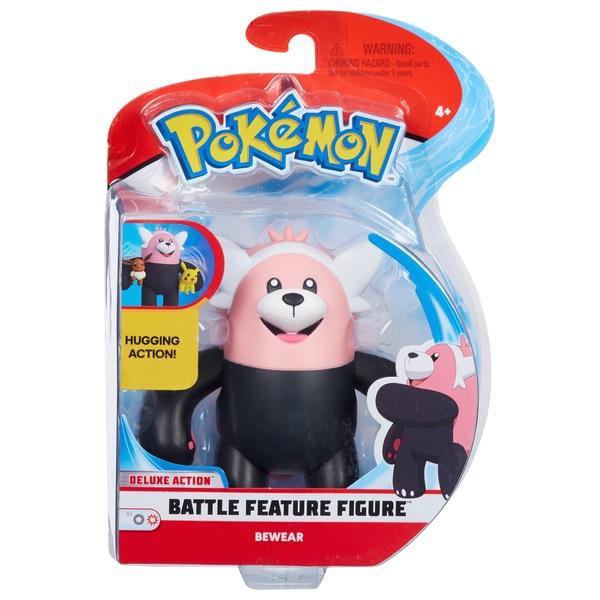 Pokémon 11cm Bewear Battle Figure