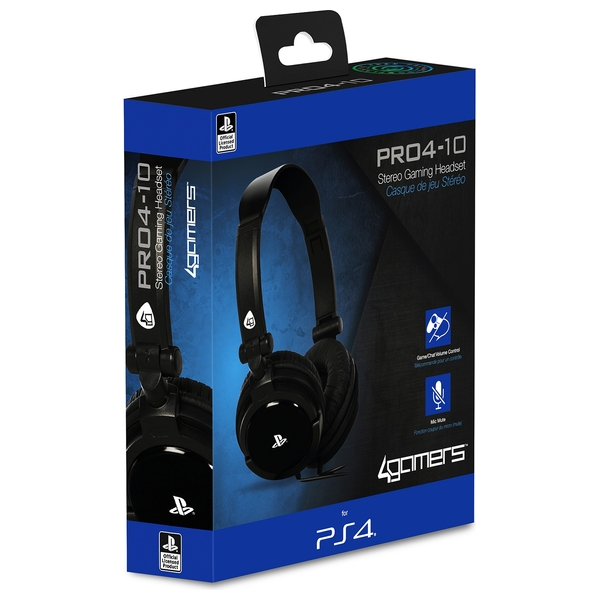 PRO4-10 Stereo Gaming Headset - Black