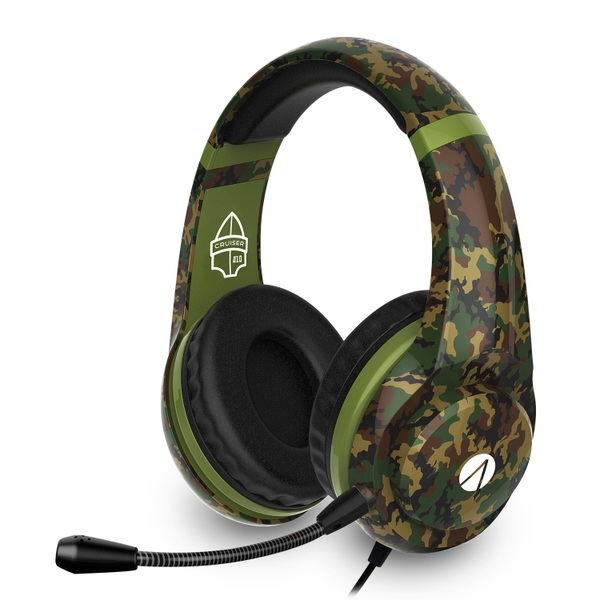Multiformat Camo Stereo Gaming Headset - Cruiser