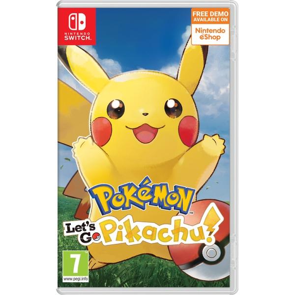 Pokémon: Let's Go Pikachu Nintendo Switch