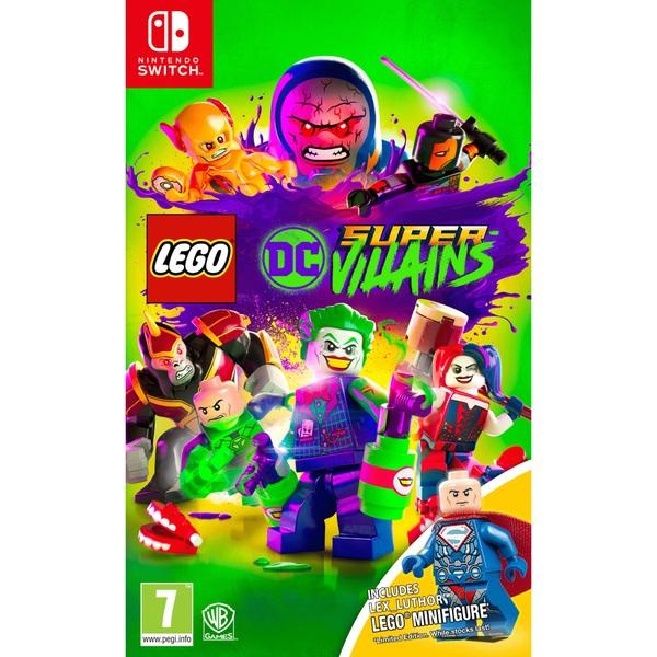 Lego Dc Super Villains Mini Figure Edition Nintendo Switch