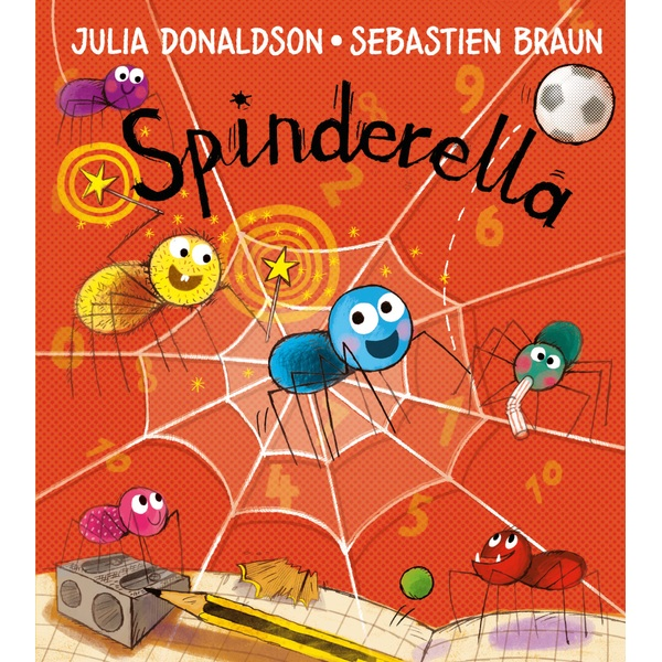 Spinderella PB Book By Julia Donaldson
