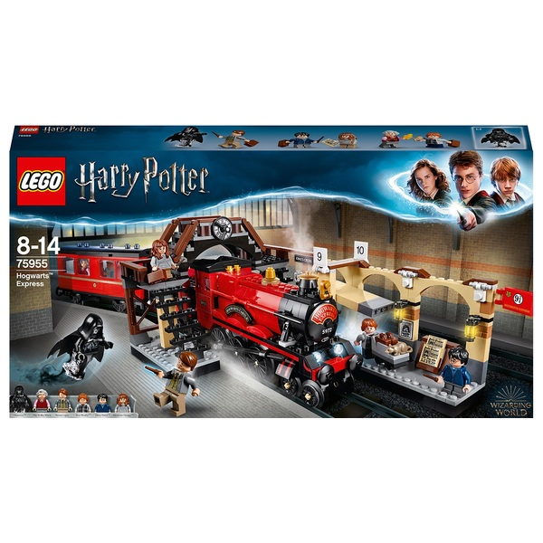 LEGO 75955 Harry Potter Hogwarts Express Train Toy - LEGO Harry ...