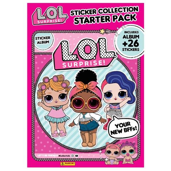 L.O.L. Surprise Sticker Collection Starter pack