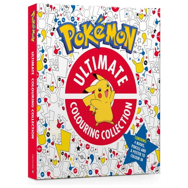 Official Pokemon Ultimate Colouring Collection HB Book Pack