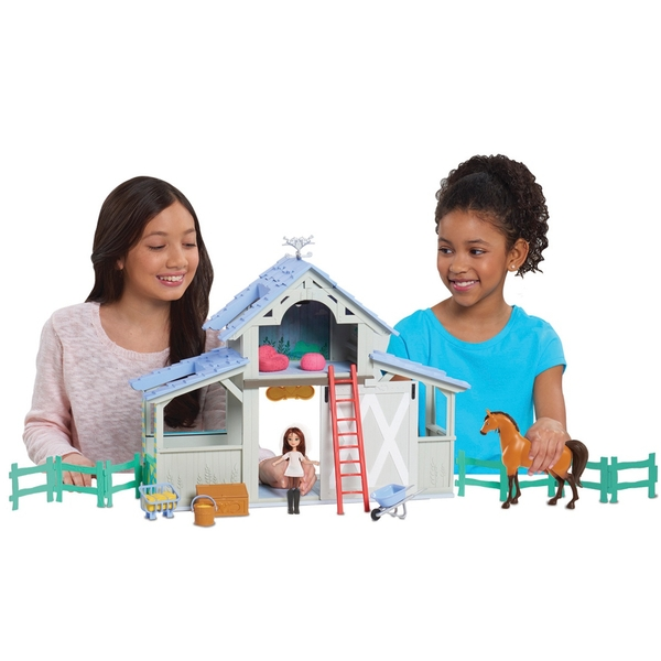 Dreamworks Spirit Riding Free Barn Playset