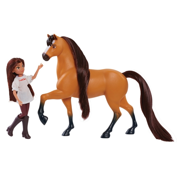 Dreamworks Spirit Riding Free Doll & Classic Horse-Lucky & Spirit