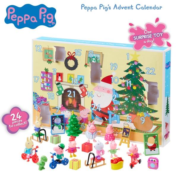 peppa pig advent calendar peppa pig uk. Black Bedroom Furniture Sets. Home Design Ideas